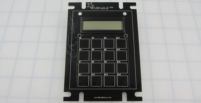 Capacitive Touch PCB Keypad