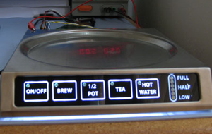 aerospace galley appliance touch keypad