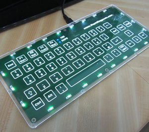 usb capacitive switch keyboard