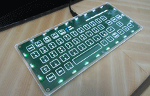 capacitive switch usb keyboard