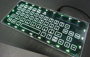 capacitive touch keyboard