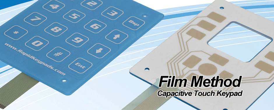 capacitive touch film method keypad
